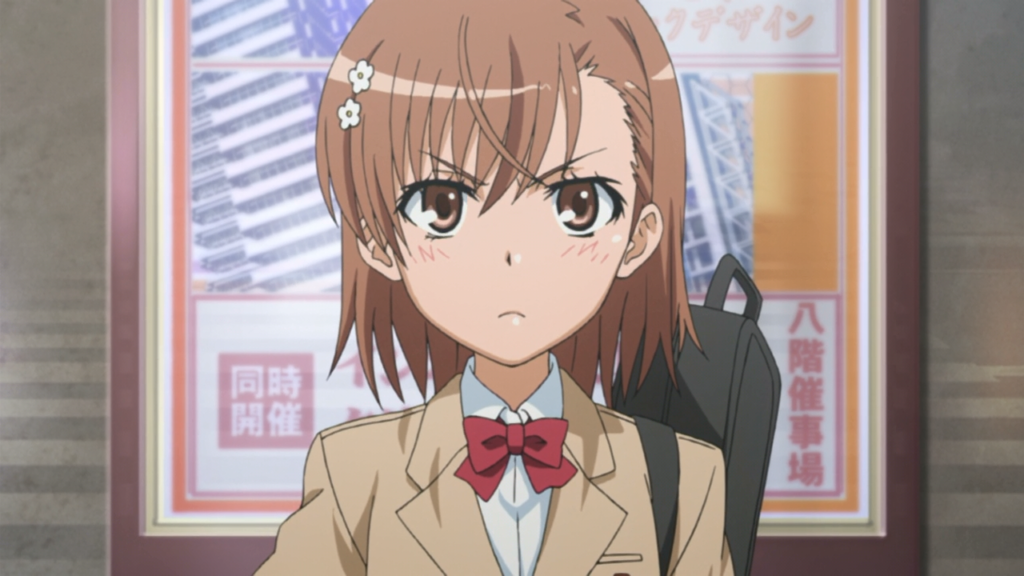 4. Mikoto Misaka (A Certain Scientific Railgun)